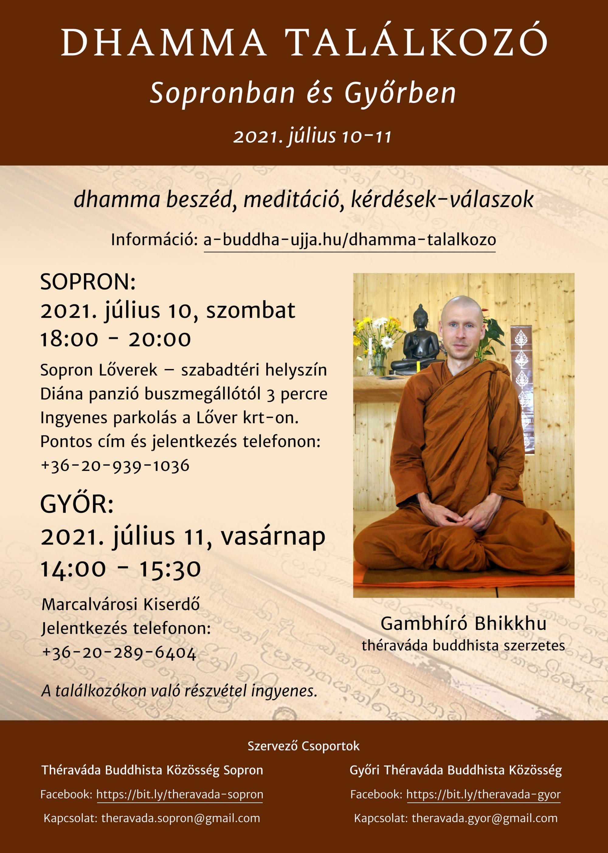 Dhamma találkozó